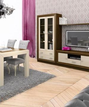 Composición salón 7 madera de roble