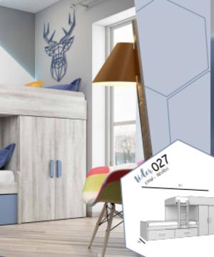 Dormitorio juvenil 27